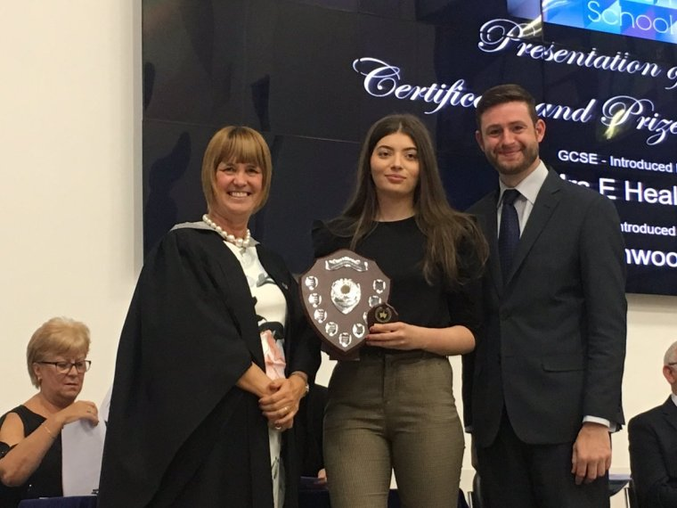 North Chad School awards 2