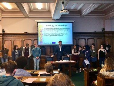 British Youth Concil Convention Event in Preston.