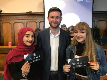 Members of the British Youth Council.
