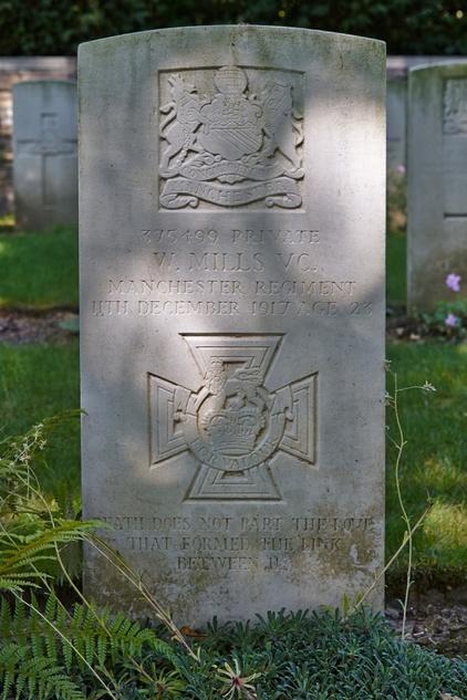 Walter Mills Grave