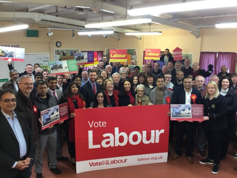 Labour local government launch