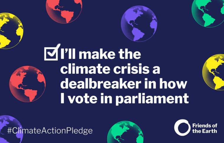 I'll make the climate crisis a deal breaker in how I vote in parliament new 2